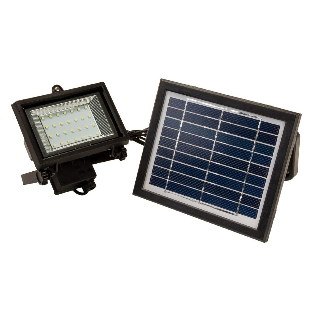 28 LED Solar Powered Flood Light