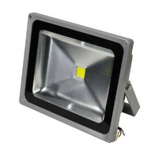 Ledwholesalers 55 Watt LED Waterpoof Outdoor Security Floodlight